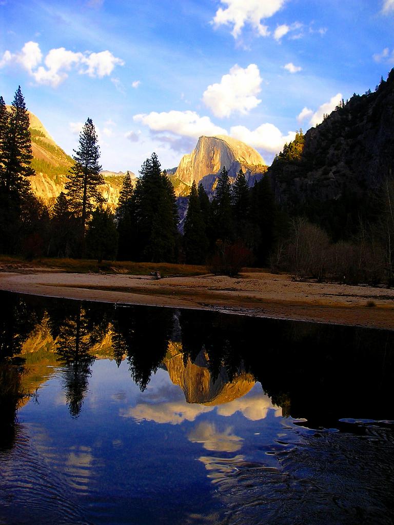 yosemite national park, yosemite, california, lake