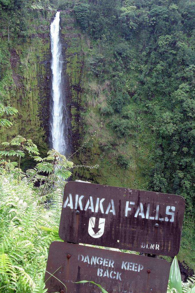 Akaka Falls State Park, Akaka Falls, Hawaii, Waterfall