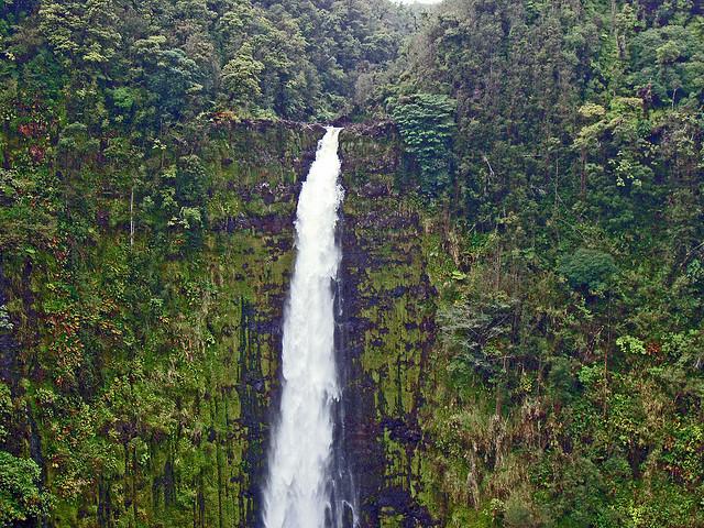 Akaka falls, Waterfall, Hawaii, Akaka Falls State Park