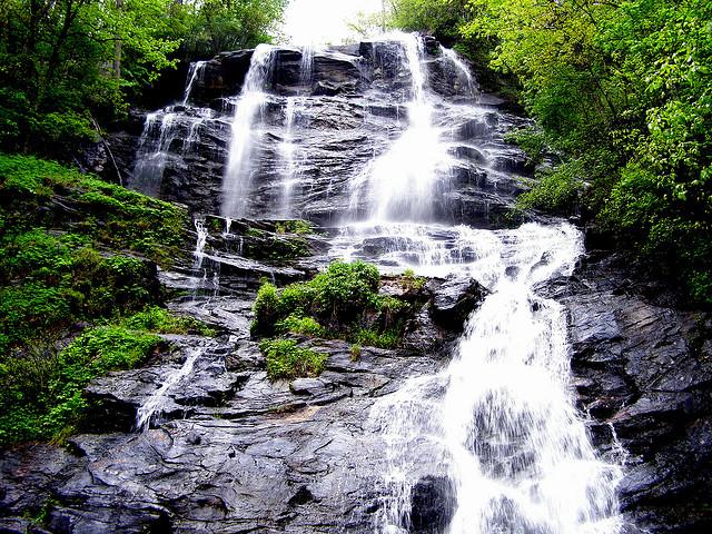 Amicalola Falls, Waterfall, Georgia, amicalola falls state park, amicalola