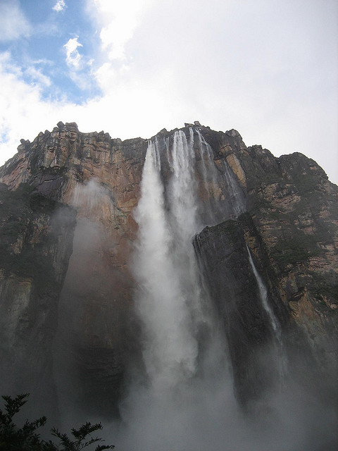 Angel Falls, Venezuela, Canaima National Park, Waterfall, Canaima
