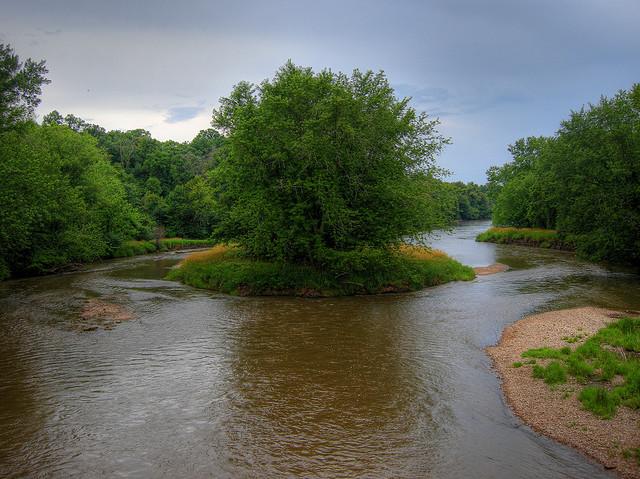 Blackhawk Springs Forest Preserve, River, winnebago county illinois