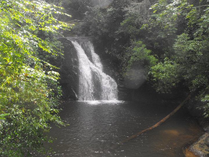 Blue Hole Falls, waterfall, Chattahoochee National Forest