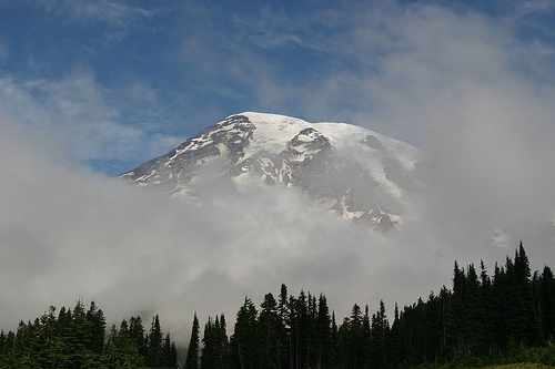Mount Rainier, Mount Rainier National Park, Washington