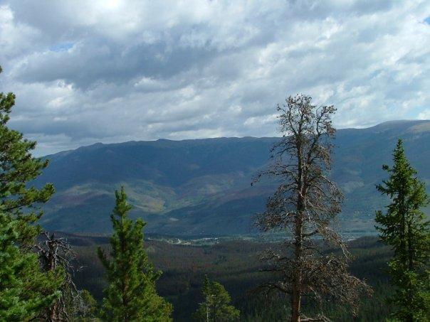 buffalo mountain, white river national forest, colorado, rocky mountains