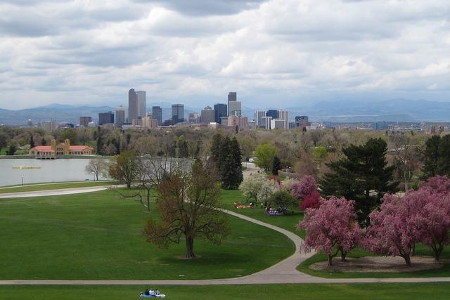 Denver, City Park, Denver Skyline, Denver Colorado