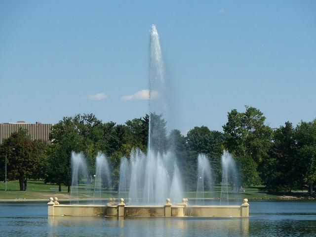city park, city park denver, denver, denver colorado, fountain