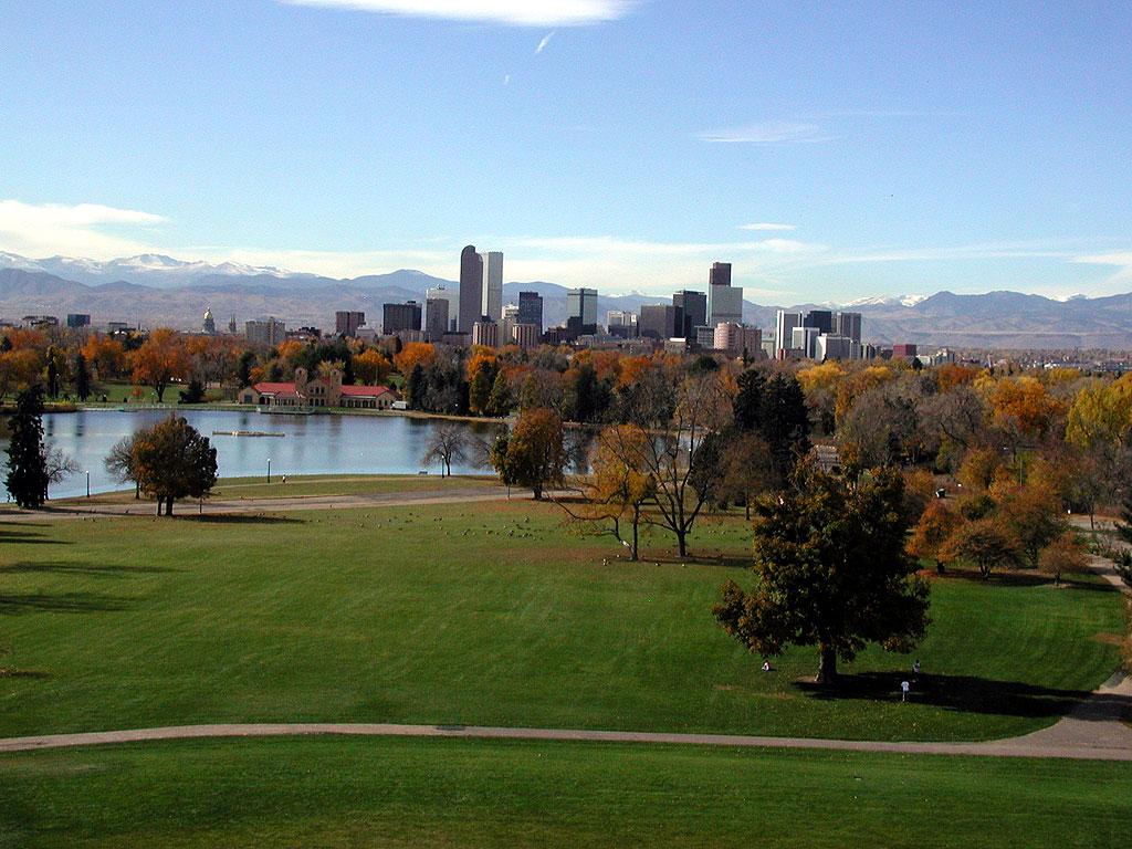 City Park, City Park Denver, Denver Colorado, Skyline, Denver Skyline