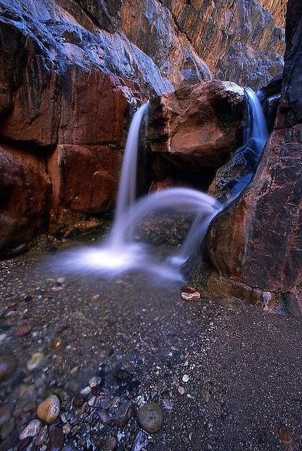 clear creek falls, grand canyon, grand canyon national park, arizona