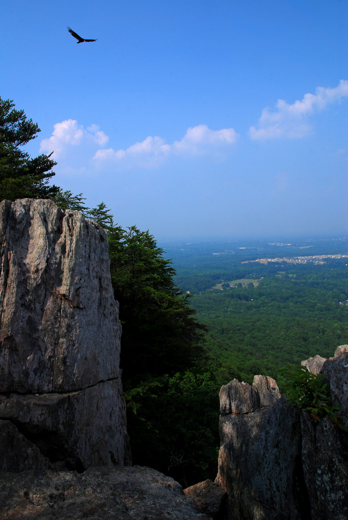 crowders mountain state park, north carolina, crowders mountain