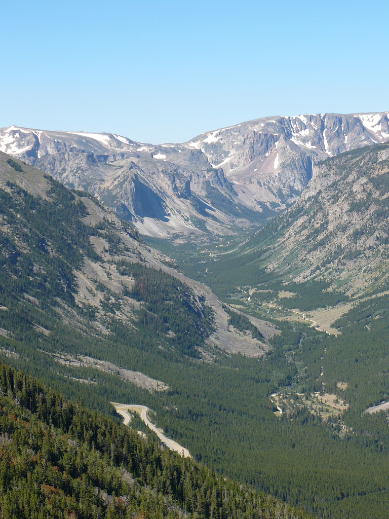 custer national forest, montana, mountains, forest