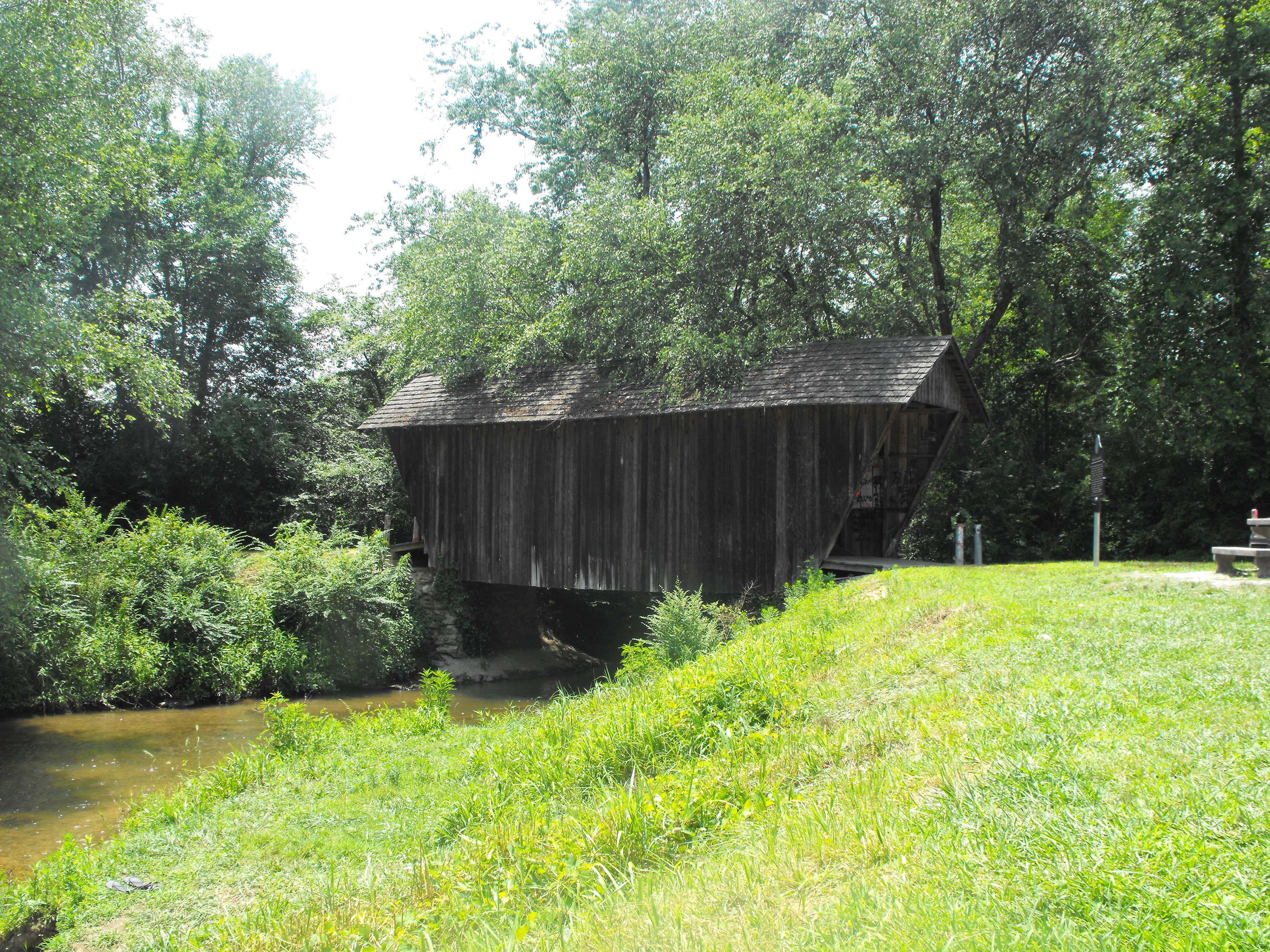 georgia, stovall mill, covered bridge