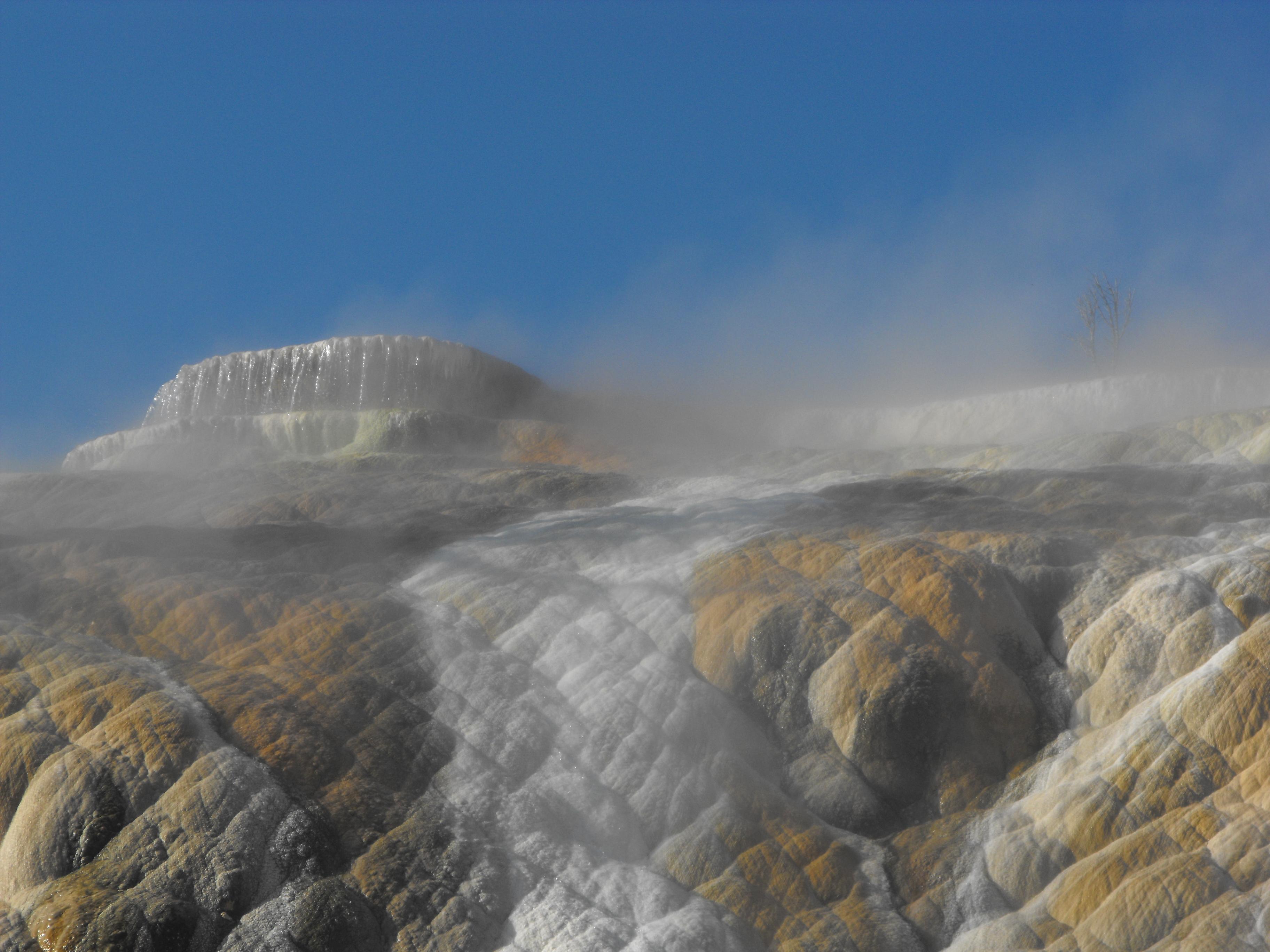yellowstone, yellowstone national park, springs