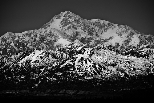 denali national park, alaska, mountains, mount mckinley