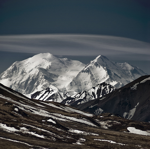 mount mckinley, denali national park, alaska, mountains