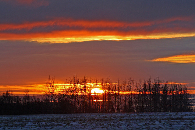 earthquake park, anchorage, anchorage alaska, sunset