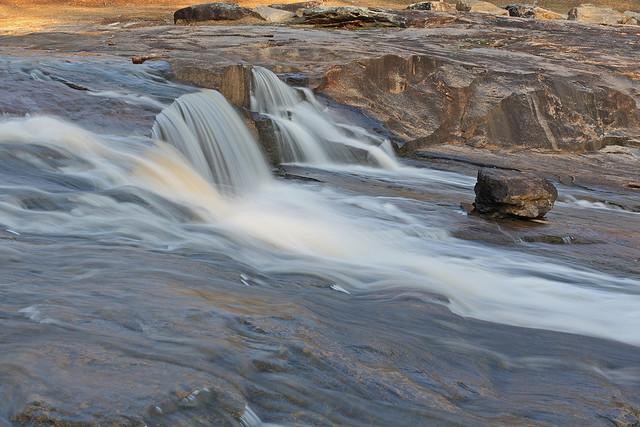 flat rock county park, columbus georgia, muscogee county georgia, waterfall