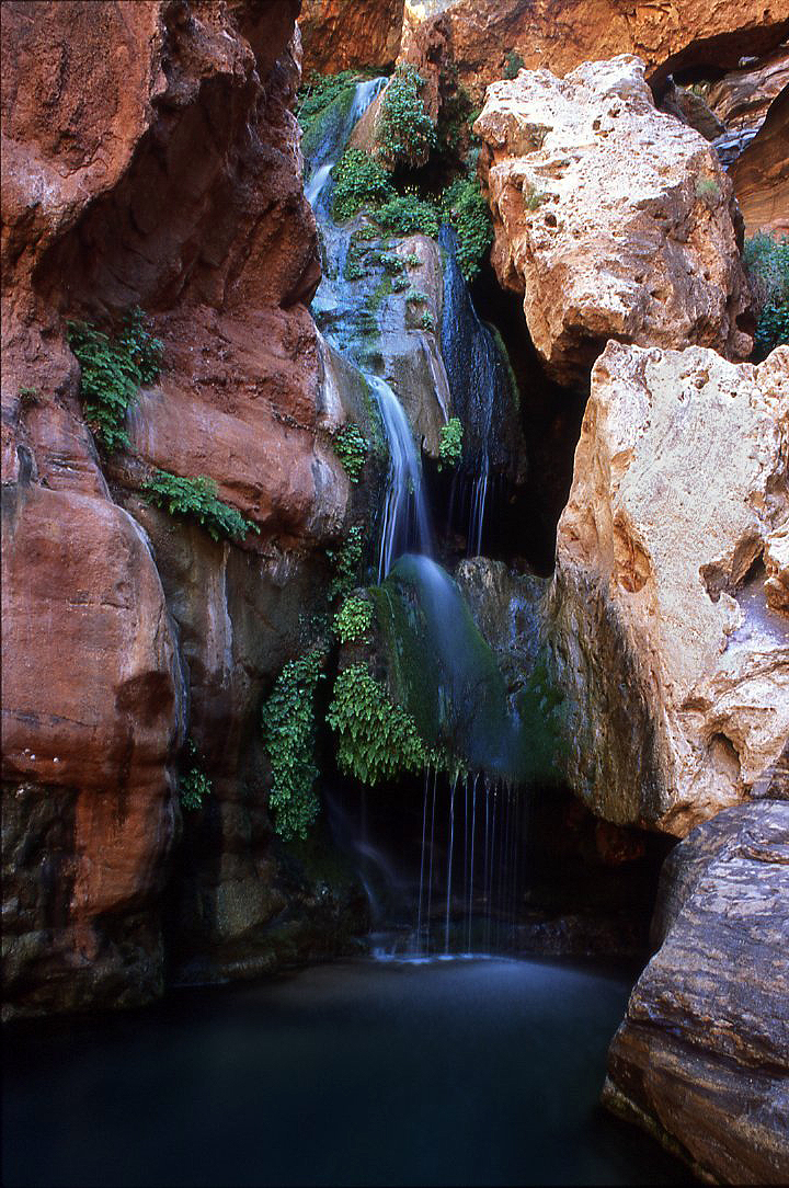 grand canyon, grand canyon national park, waterfall