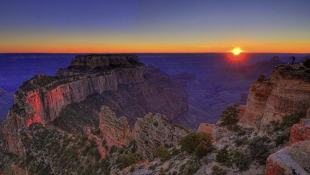 grand canyon, grand canyon national park, grand canyon sunset, cape royal