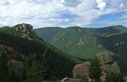 gray back peak, pike national forest, colorado, rocky mountains