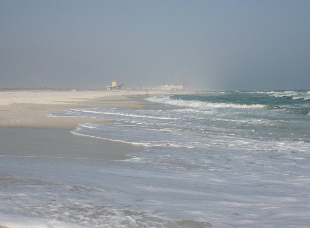 gulf state park, alabama, coast, beach, gulf of mexico