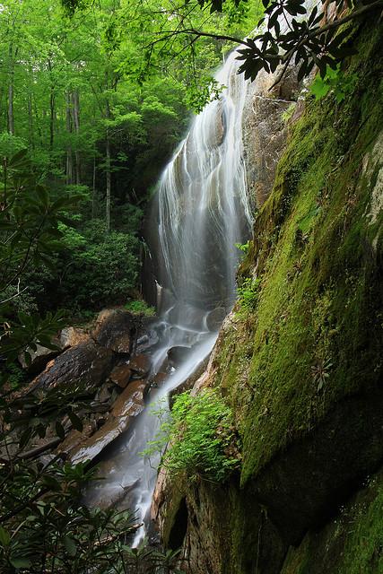 Hedden Creek Falls, Rabun County, Chattahoochee National Forest
