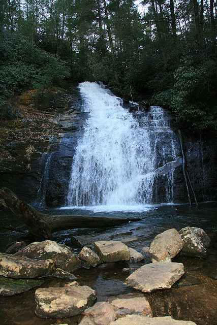 Helton Creek Falls, Chattahoochee National Forest