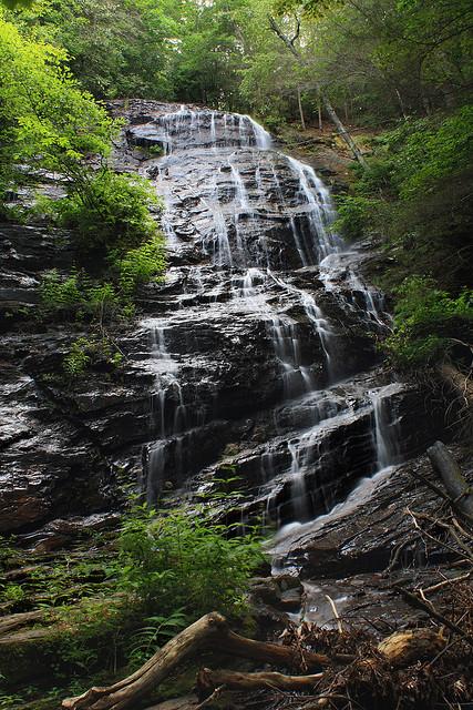 Horse Trough Falls, Chattahoochee National Forest, Waterfall