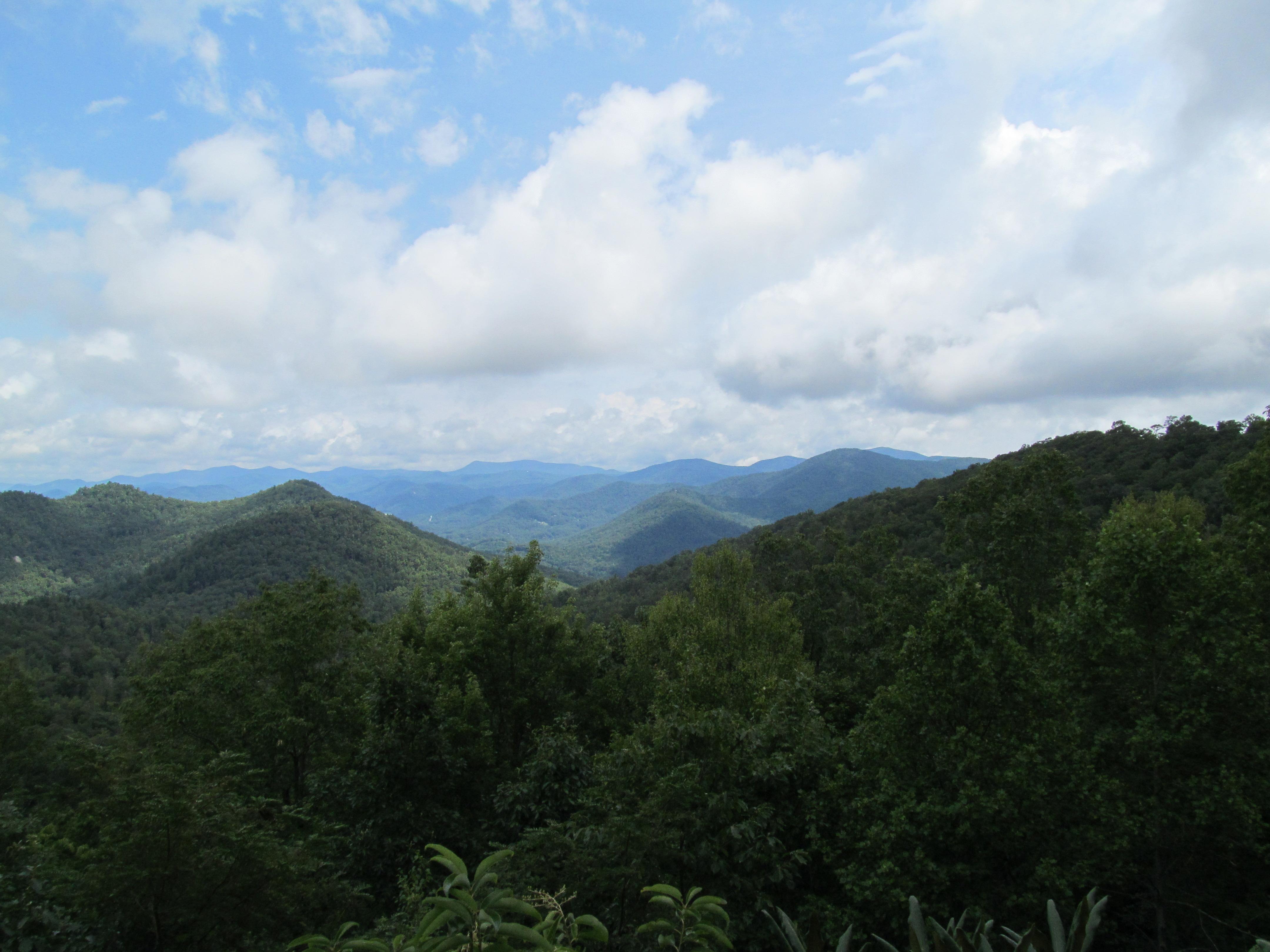 appalachian mountains, blue ridge mountains, Black Rock Mountain State Park