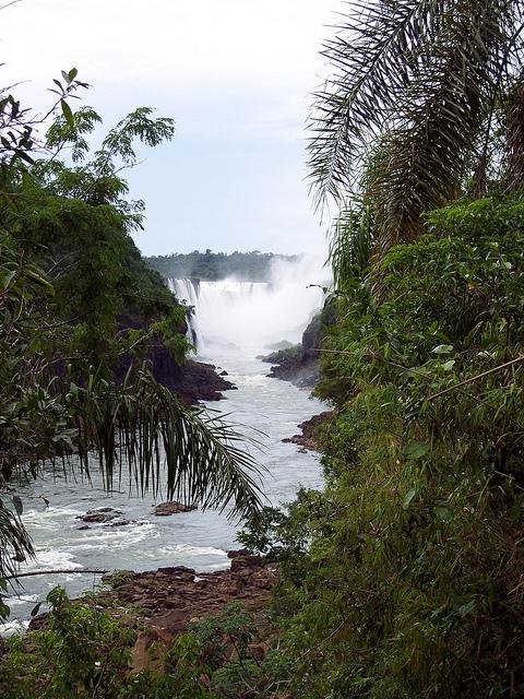 iguazu falls, waterfall, argentina, iguazu national park