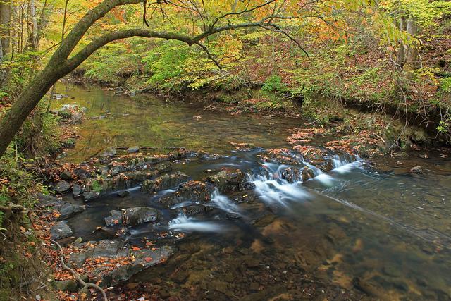 johns creek, chattahoochee national forest, river, mountains, georgia