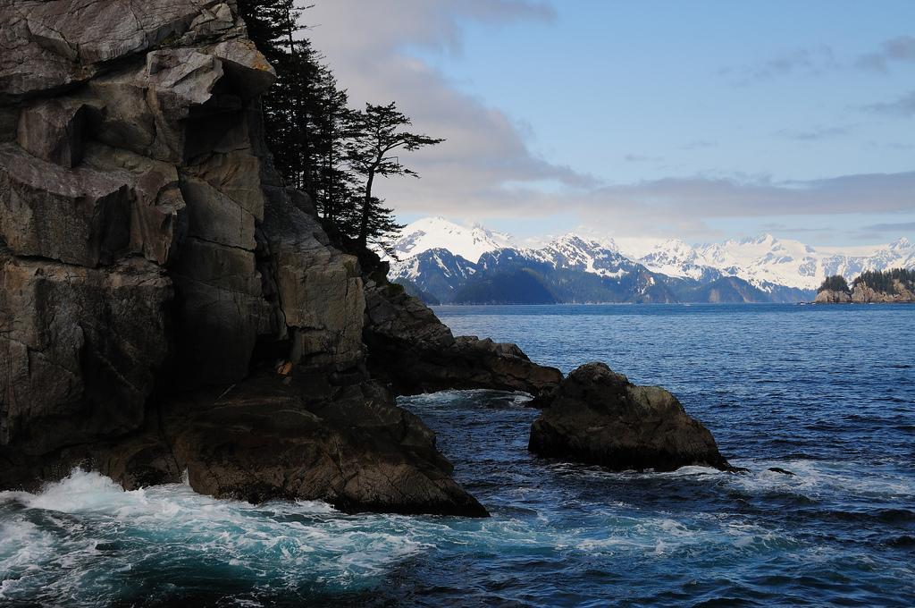 kenai fjords national park, alaska, alaskan coast, kenai fjords