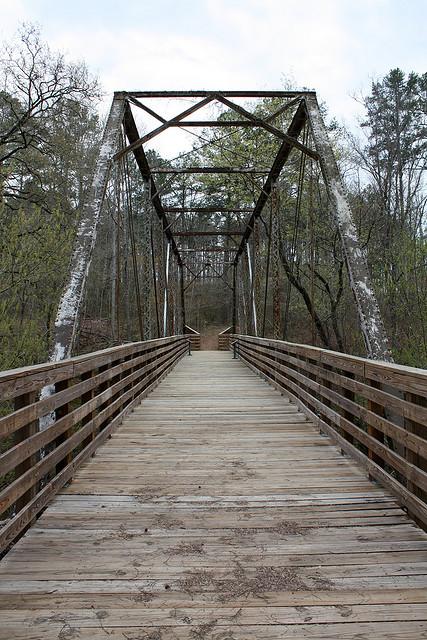 sumter national forest, south carolina, forest, key bridge