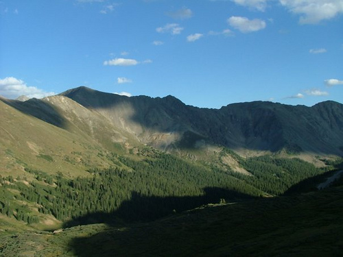 Loveland Pass, Arapaho National Forest, Colorado, Continental Divide