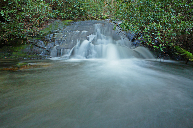 lovinggood creek falls, chattahoochee national forest, georgia, waterfall