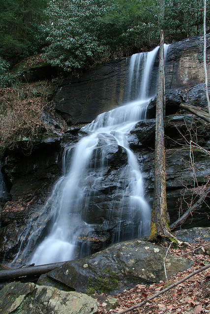 Lower DeSoto Falls, Chattahoochee National Forest