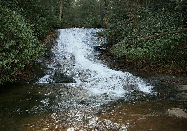 Lower Helton Falls, Chattahoochee National Forest, Waterfall