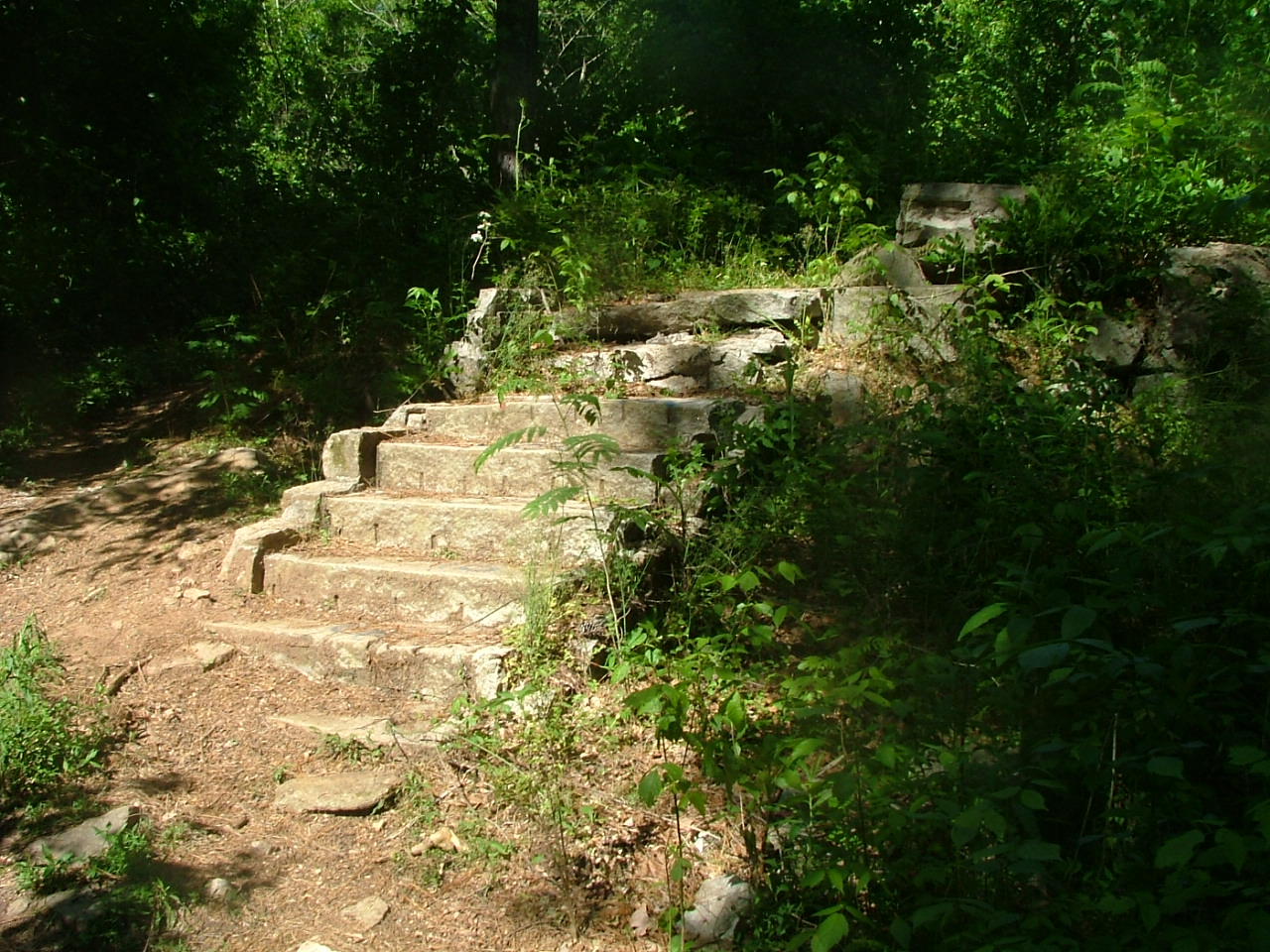 Mason Mill Park, Stairs, Decatur Water Works