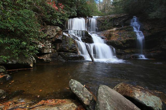Moccasin Creek Falls, Chattahoochee National Forest, Waterfall