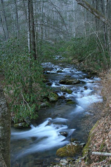 Tallulah River, Clay County, Nantahala National Forest, North Carolina, River