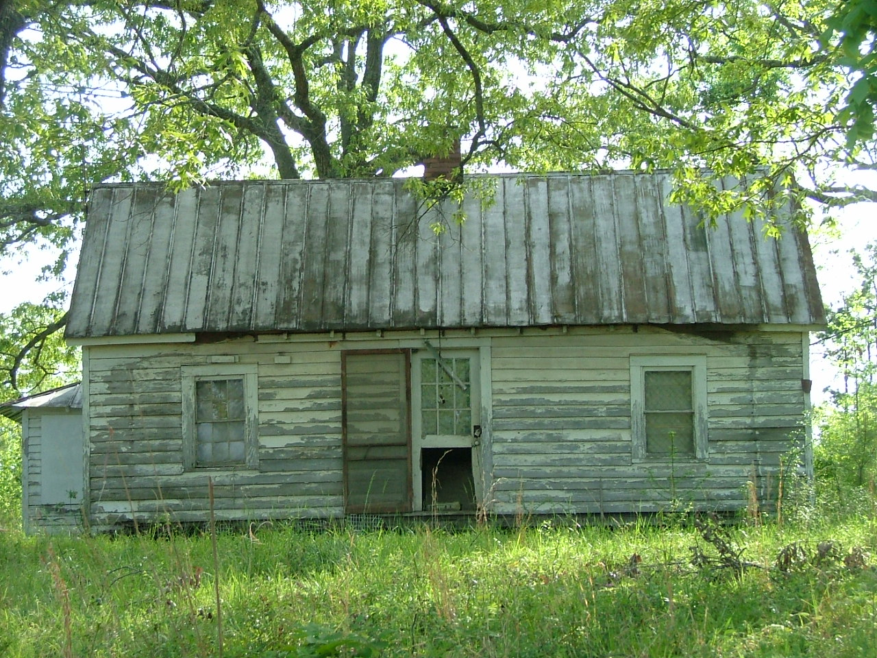 Oconee National Forest, georgia, house