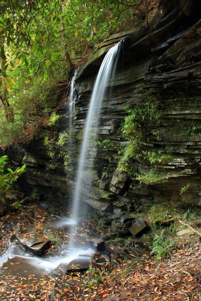panther falls, waterfall, chattahoochee national forest, georgia