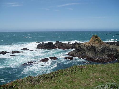 russian gulch state park, california, california coast