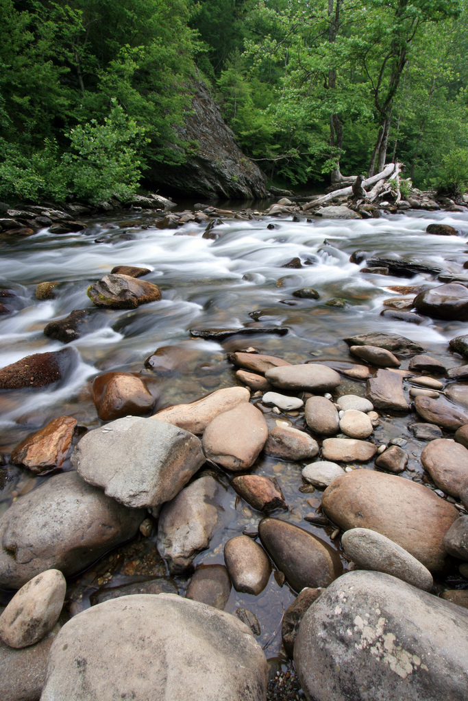 great smoky mountains national park, little river