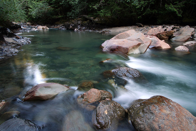 Nooksack River, Snoqualmie National Forest, Whatcom County Washington