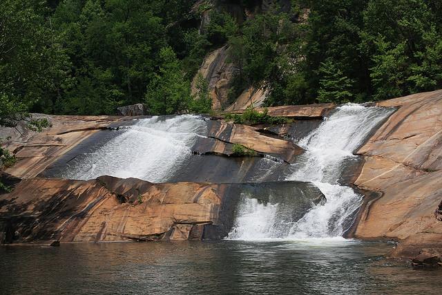 oceana falls, tallulah river, tallulah gorge, tallulah gorge state park