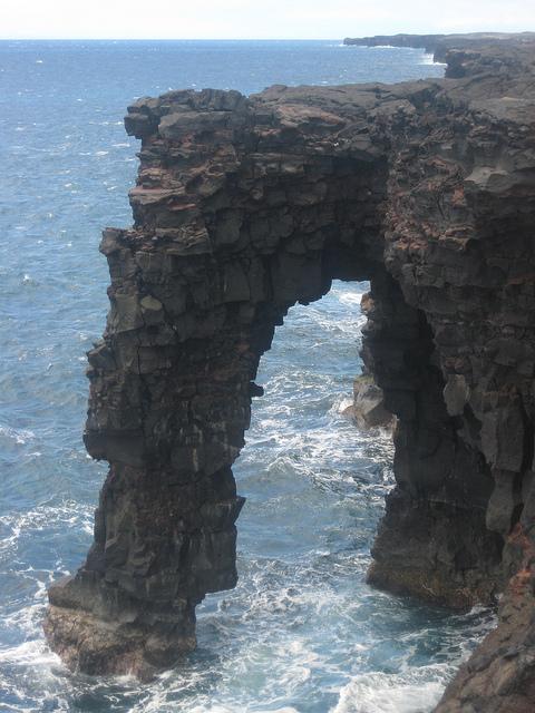 volcanoes national park, hawaii, pacific ocean