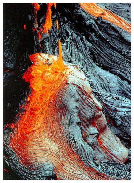 lava, hawaii, volcanoes national park