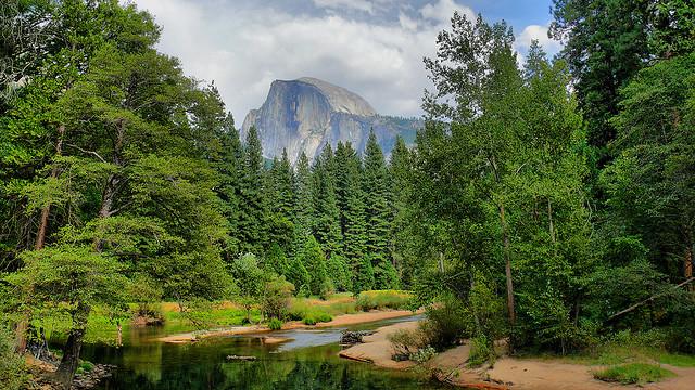 half dome, yosemite national park, california, yosemite