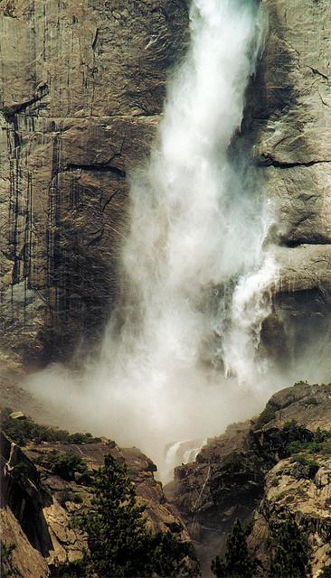 yosemite national park, yosemite, california, yosemite falls, waterfall